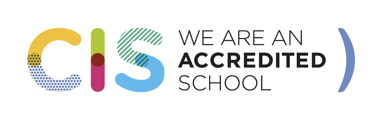 CIS WE ARE AN ACCREDITED SCHOOL logo